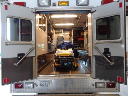 Ambulances: A617B-inside