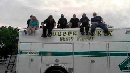 Rescue Truck at the Fair