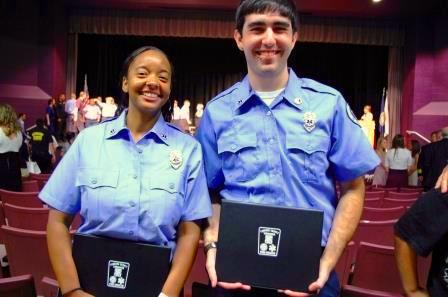 grads from EMT school