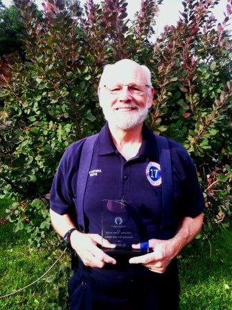 Ed Peters, Outstanding Volunteer 2014