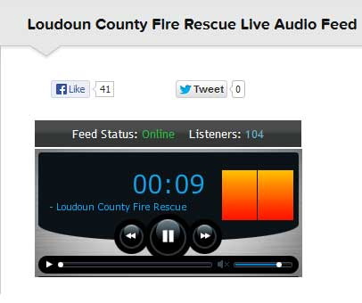 Loudoun County Fire-Rescue Scanner