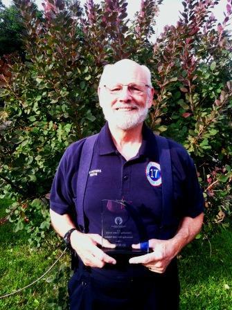 Ed Peters, Outstanding Volunteer 2014